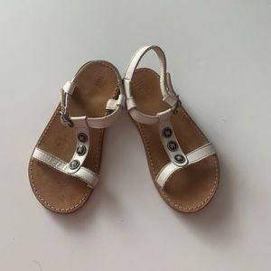 """Janie and Jack Leather Sandals """"Sunny Escape"""" S"""